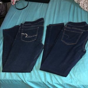 SPECIAL DEAL! American Eagle Jeans (2 pairs)